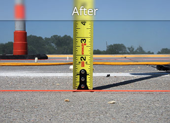 After leveling Battle Creek roadway with PolyLevel®