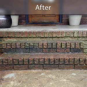 Sinking stairs repaired with PolyLevel® Grand Rapids