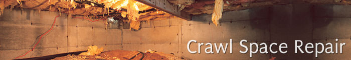 Crawl Space Repair in MI, including Battle Creek, Kalamazoo & Grand Rapids.