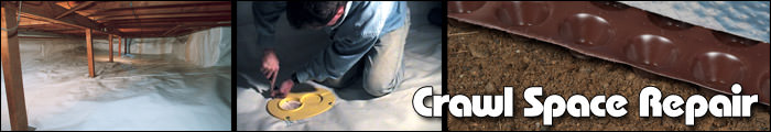 Crawl Space Repair in Kalamazoo, Lansing & Grand Rapids, MI