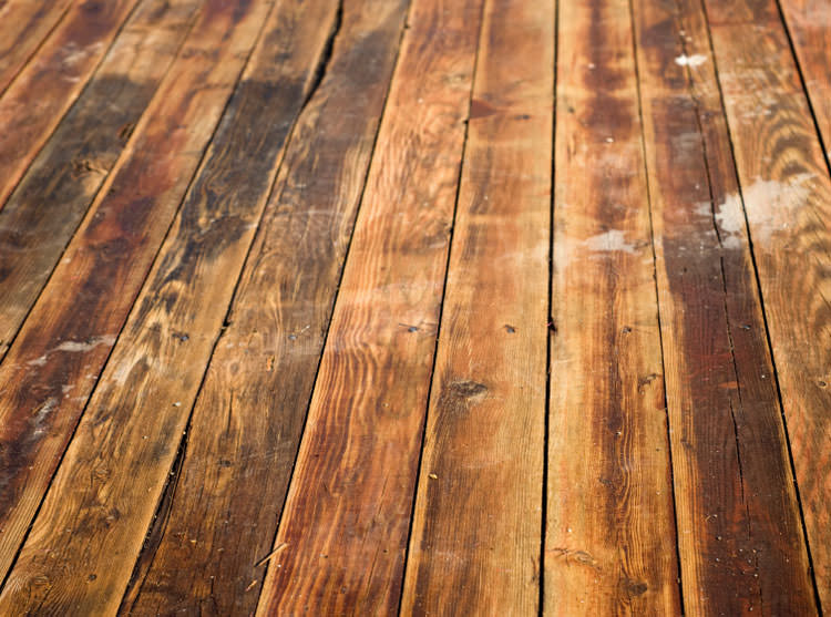 Superb Mold On Hardwood Floors Part - 11: A [city] Wood Floor Displaying Water Damage.