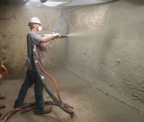 shotcrete wall restoration Grand Rapids