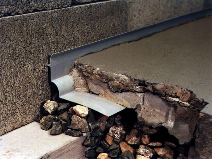 designed basement drain system for thin basement floors in allegan